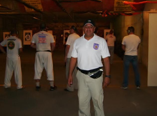 Curso Internacional de Instructores, esperando turno para la práctica de tiro