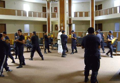 Cursos de Krav Maga para policias.
