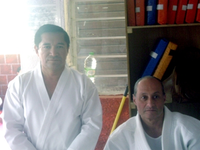El Gran Master Yaron Lichtenstein y David Rosales Pérez.