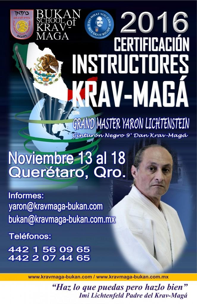 Curso Certificación Instructores Krav-Magá / México 2016